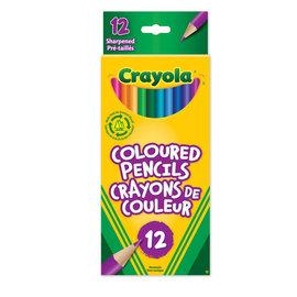 Crayola CRAYOLA 12 COULEURS BOIS 2012