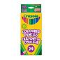 Crayola 24 Crayons de couleur en bois + aiguisoire