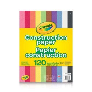 Crayola Papier Construction 120p