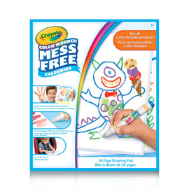 Crayola BLOC DESSIN MESS FREE COLOURING