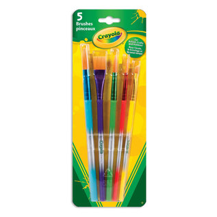 Crayola CRAYOLA 5 PINCEAUX 3506