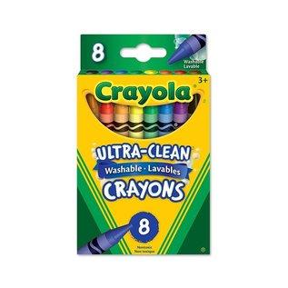 Crayola CRAYOLA 8 CRAYONS CIRE