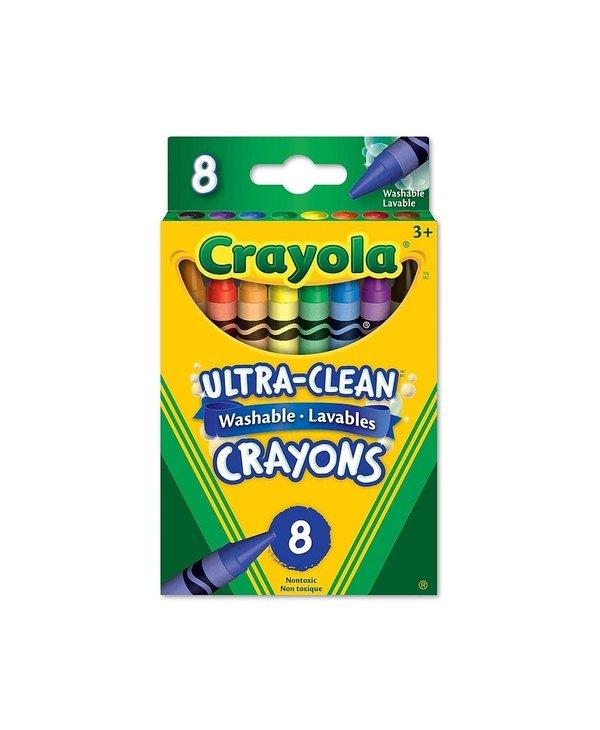 8 Crayons Cire
