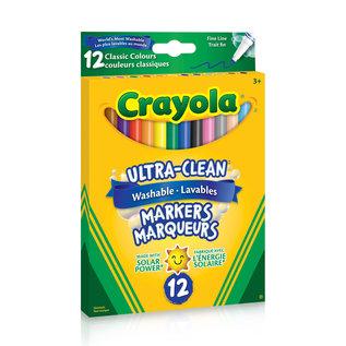 Crayola 12 Marqueurs trait fin