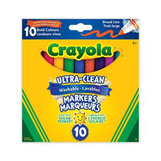 Crayola 10 marqueurs lavables couleurs vives