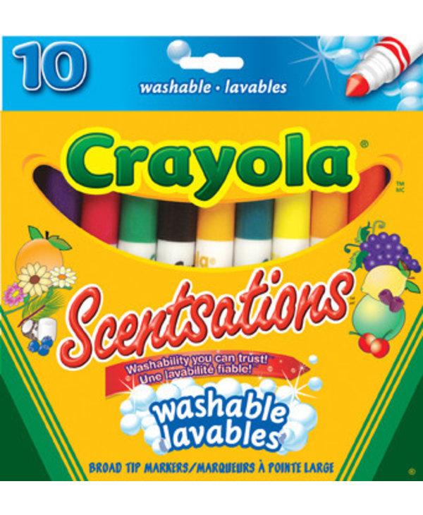 10 Crayons Scentsations