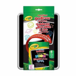 Crayola Tableau Effacable à sec & Crayons Neon