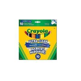 Crayola 10 marqueurs couleurs classiques