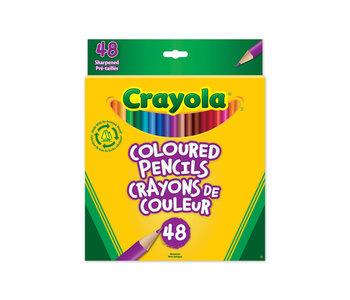 48 Crayons couleur