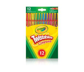 12 Crayons Twistables