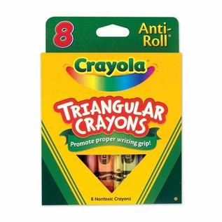 Crayola CRAYOLA 8 CRAYONS TRIANG. 4008