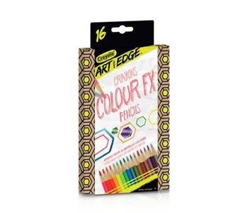16 Crayons ColorFX