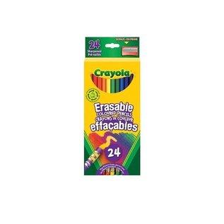 Crayola CRAYOLA 24 CRAYONS BOIS EFFAC.