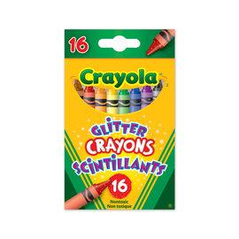 Crayola CRAYOLA 16 CRAYONS SCINTILLANTS