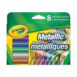 Crayola CRAYOLA 8 METALLIC MARKERS