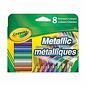 Crayola 8 Marqueurs metalliques
