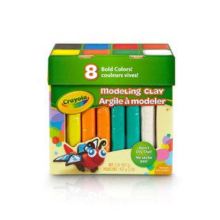 Crayola Argile à modeler 8 couleurs