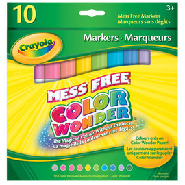 Crayola 10 Marqueurs Color Wonder