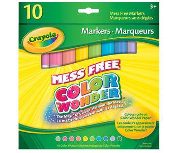 10 Marqueurs Color Wonder