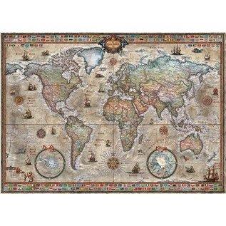 Heye PZ1000 Retro world, Map Art