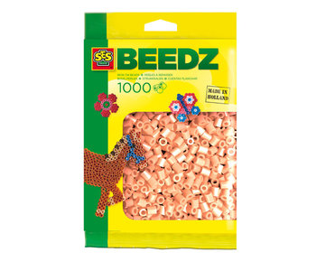 Beads 1000 pieces skin colour