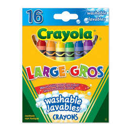 Crayola CRAYOLA 16 CRAYONS GROS 3281