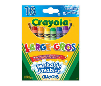 16 Crayons Gros