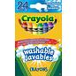 Crayola CRAYOLA 24 CRAYONS CIRE LAVABLE