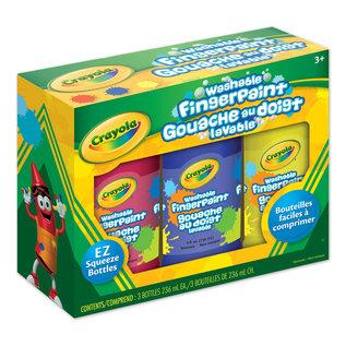 Crayola 3 Gouaches au doigt Lavable
