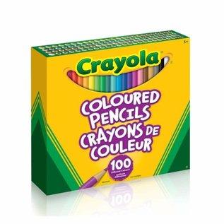 Crayola 100 Crayons de bois