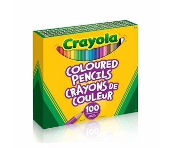 100 Crayons de bois