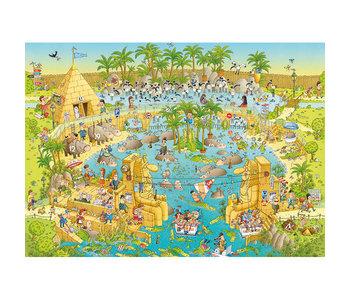 PZ1000 Nile Habitat, Funky Zoo