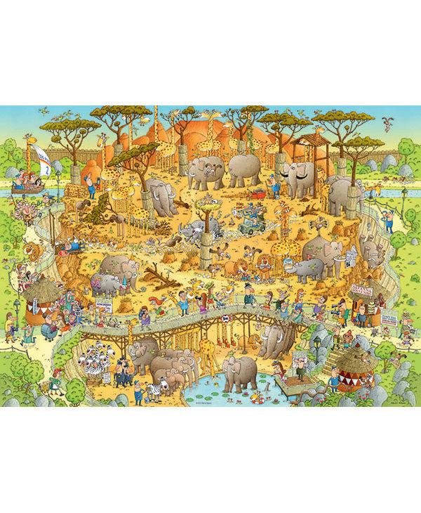 PZ1000 African Habitat, Funky Zoo