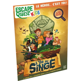 Don't Panic Games Escape Quest Kids 1: l'Île au singe (FR)