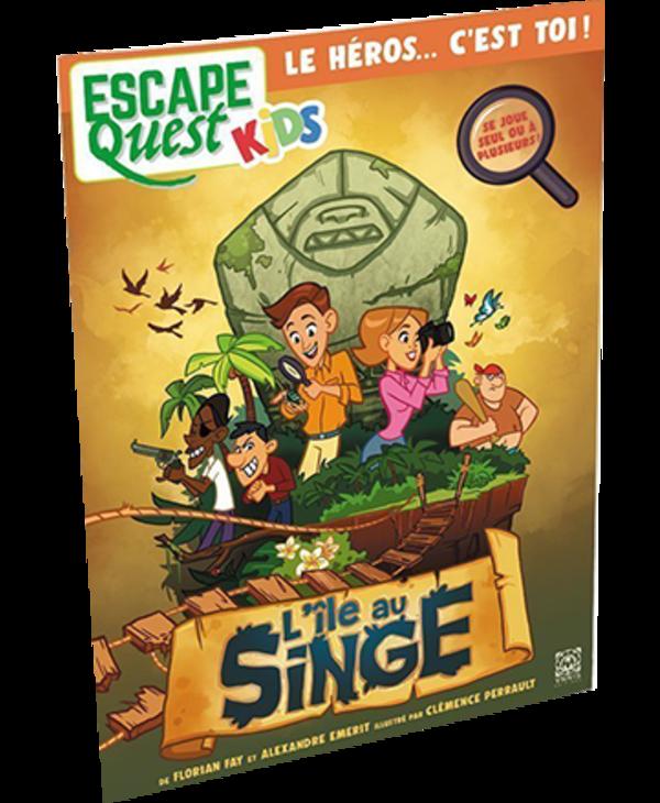 Escape Quest Kids 1: l'Île au singe (FR)