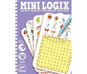 Mini Logix Mots Meles Anglais