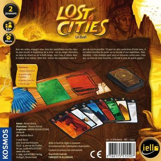 iello Lost Cities - Le Duel (FR)