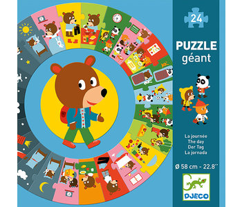 Giant Puzzle / The day 24pcs