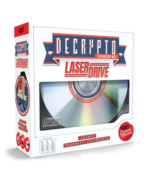 Decrypto ext - Laser drive