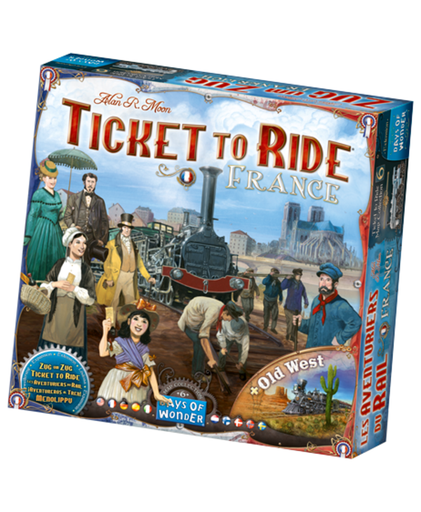 Ticket to ride - France  +Old West