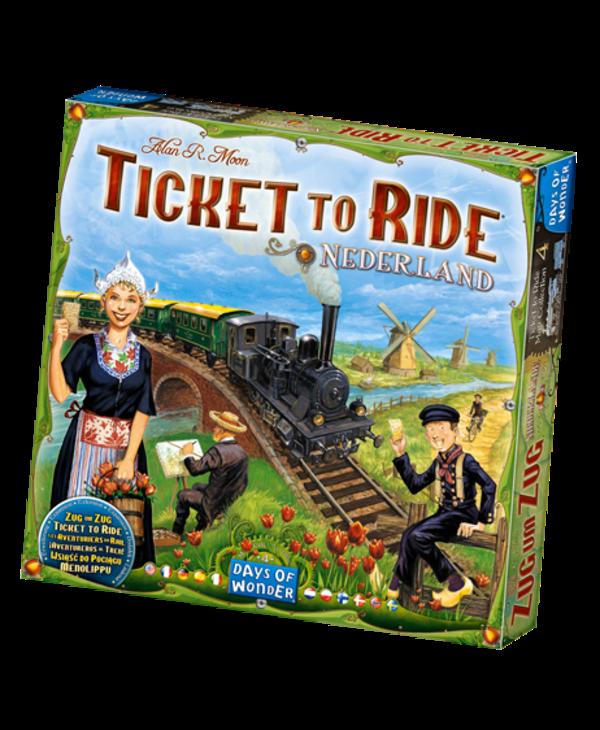 Aventuriers du rail - Pays-bas
