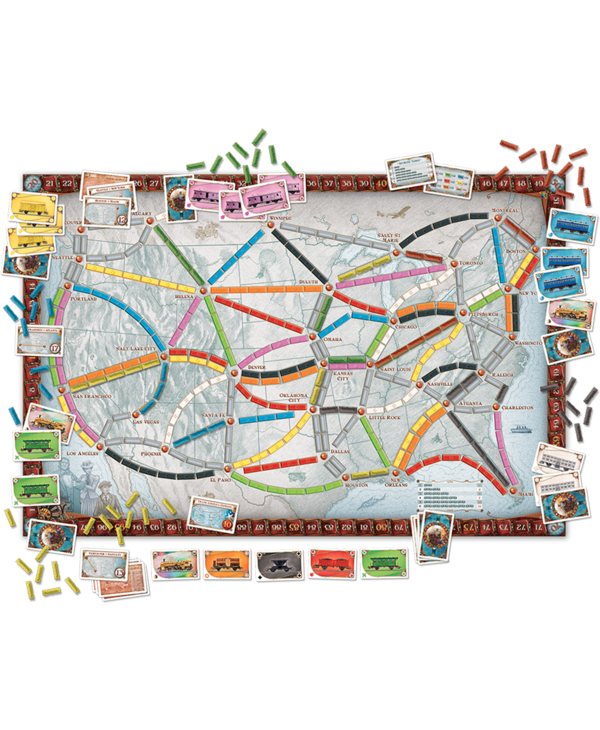 Ticket to ride (FR)