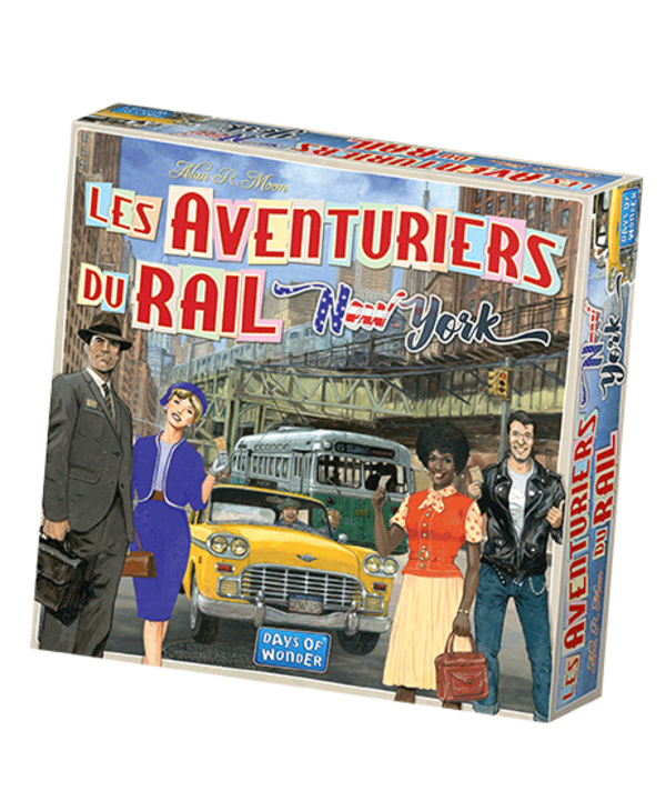 Ticket to ride - New York (FR)
