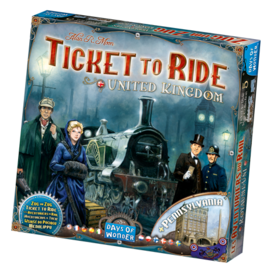 Days of wonder Ticket to ride - UK/Pennsylvania