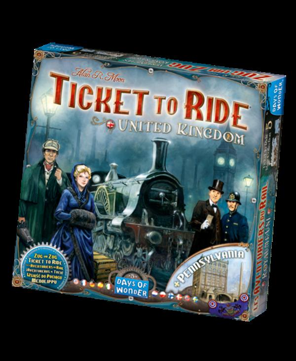Ticket to ride - UK/Pennsylvania