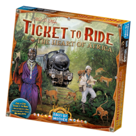 Days of wonder Ticket to ride - The heart of Africa