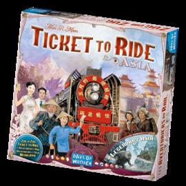 Days of wonder Aventuriers du rail - Asie