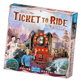 Days of wonder Ticket to ride - Asia