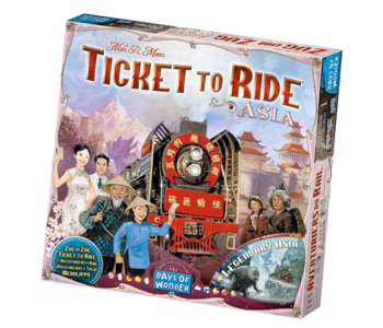 Aventuriers du rail - Asie