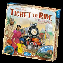 Days of wonder Aventuriers du rail - Inde/Suisse